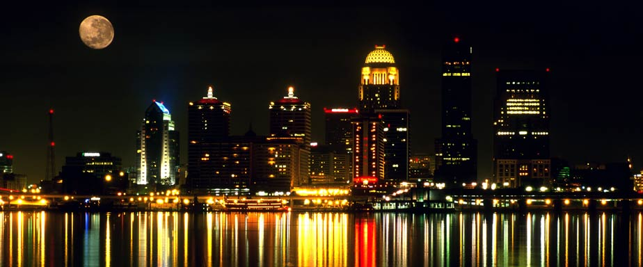 Louisville At Night